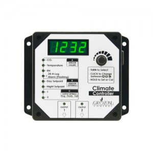 GroZone Climate Controller (Temp, RH and CO2)