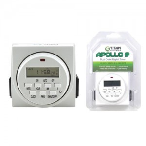ECO PLUS/APOLLO 9 DIG. DUAL TIMER