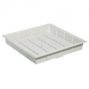 Botanicare ID White 4 ft x 4 ft Grow Tray