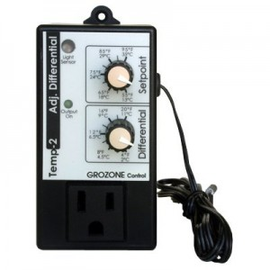 GroZone TP2 Adjustable differential Thermostat
